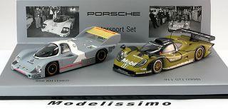 43 Minichamps Porsche 956 KH/ 911 (996) GT1 Double Set