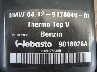 BMW X5 X6 Standheizung E70 E71 E72 Webasto Thermo Top V 64129178826
