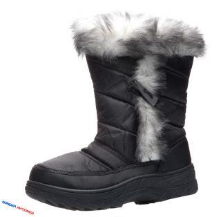 Schneestiefel Snowboots Stiefel Boots Gefüttert Mod. 202 957
