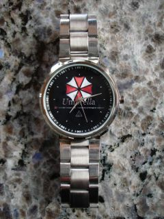 RESIDENT EVIL UMBRELLA CORPORATION ARMBANDUHR WATCH NEU/OVP RAR / RARE
