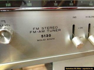 Vintage Solid State AM FM Tuner SONY ST 5130 Old Fidelity Klassiker
