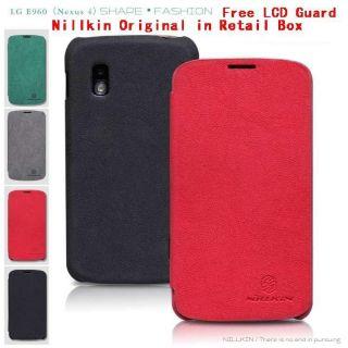 Nillkin Fashion PU Flip Leather Case Pouch For LG E960 Google Nexus 4