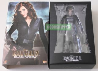 HOT TOYS IRONMAN 2 BLACK WIDOW SCARLETT JOHANSSON THE AVENGERS 1/6 NEW