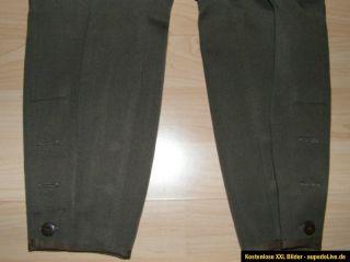 NVA Stiefelhose Offizier Hose Wehrmacht Uniform 60er Jahre KVP SED MDI