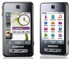 Samsung F480 F480i Silber Silver Handy Händler