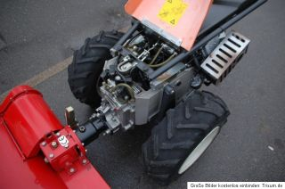 Bucher Reform Elite M14 Hydro mit Lipco Umkehrfräse 21PS Motor neu