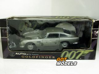 JAMES BOND 007 ASTON MARTIN DB5 GOLDFINGER   1/18 AUTOART MODEL CAR