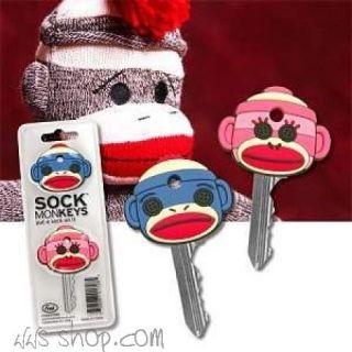 Schlüsselkappen Sock MonKeys