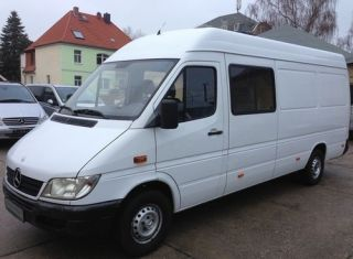 Mercedes Benz Sprinter 313 CDi Maxi 6 Sitzer Mixto Temp