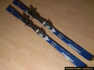 Atomic Beta Carv 9,18 Race Carving Ski mit Bindung 170cm blau Allround