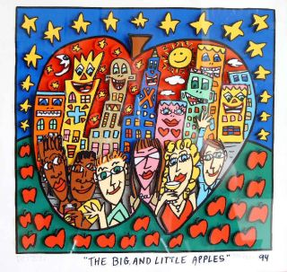 JAMES RIZZI ***THE BIG AND LITTLE APPLES *** S/N GERAHMT ABSOLUTE