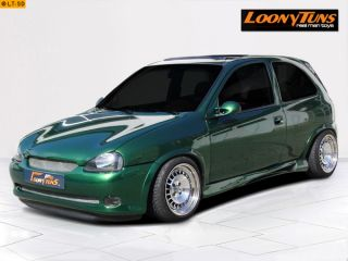 Smooth Design Front Stoßstange/Spoiler Opel Corsa B