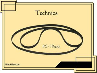 Technics RS TR979 Riemen belts Cassette Tape Deck