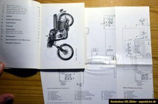 Bedienungsanleitung MZ TS 125/150/250 unbenutzt Kraftrad
