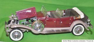 Franklin Mint 1  24 Duesenberg J Derham Tourster Cabriolet