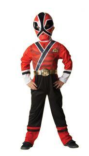 Kostüm Power Rangers Samurai Rot Kinder Jungen Verkleidung 3   8