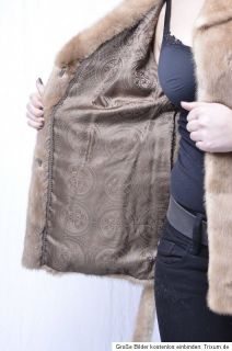 NERZJACKE Pastel SAGA MINK fur jacket Nerz nerzmantel Pelzjacke vison