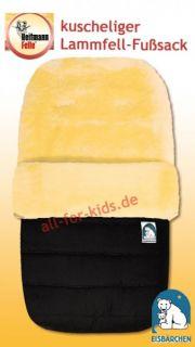 Lammfellfußsack* Fußsack echtes Lammfell  Heitmann   Baby Schlafsack