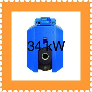 BUDERUS G125 Eco 34 kW Regelung 2107 Öl Heizung Kessel