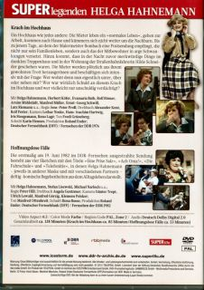 DVD Helga Hahnemann/Herbert Köfer DDR TV  Archiv Film Superlegenden