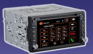 GPS NAVIGATION DVD LCD AUTORADIO BLUETOOTH NAVI DOPPEL DIN 2DIN MD271G