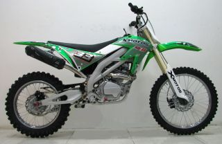 ICS CBF33C Enduro Cross Dirt Bike 250CC/4Takt Grün