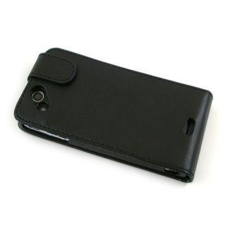 Flip Case/Handytasche zu Sony Ericsson Xperia arc S LT18i Schwarz #F4