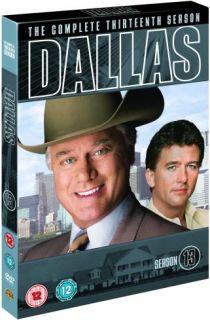 Dallas  Season 13   Larry Hagman   New DVD