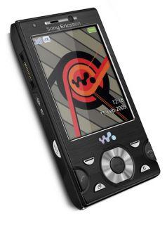 Sony Ericsson Walkman W995   Progressive Black Ohne Simlock Handy