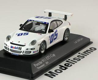 43 Minichamps Porsche 911 (997) GT3 Cup Presentation 2005 white
