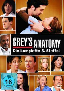 Greys (Greys) Anatomy (Die komplette 5. Staffel)  7 DVD  101