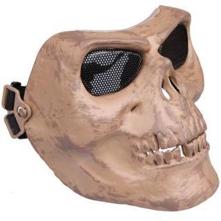 Paintball Softair Militär Voll / Halb Schutz Maske Totenkopf Schädel