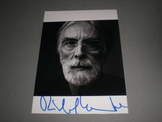 Michael Haneke signed signiert Autogramm auf 13x18 Foto