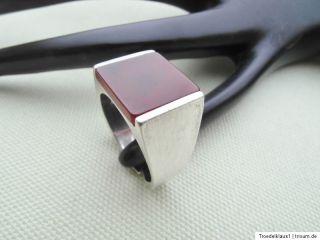 Toller,HERREN Siegel   Silber Ring,835 gestempelt,mit KARNEOL,Top