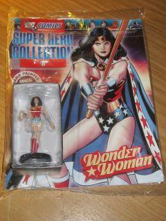 DC Comics Super Hero Collection (8) Wonder Woman Figur & Magazin