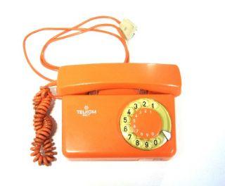 Telkom RWT Telefon Schnurgebunden mit Waehlscheibe Kommunikation