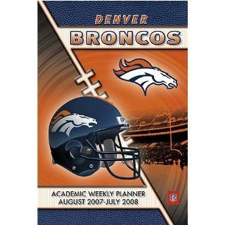 Denver Broncos 2007   2008 5x8 Academic Weekly Assignment