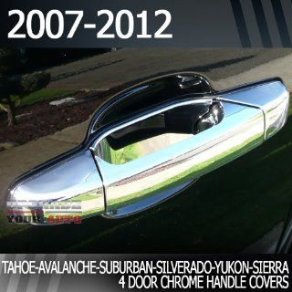 2007 2012 GMC Sierra Full 4dr Crew/Extended Cab Chrome Door Handle
