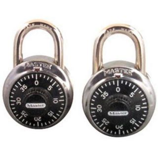 Master Lock 1500T 2 Pack Combination Alike Locks