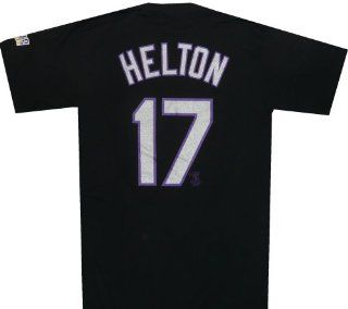 Rockies Name and Number Shirt World Series 2007