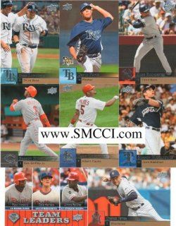2009 Upper Deck Baseball Complete Mint Hand Collated 500
