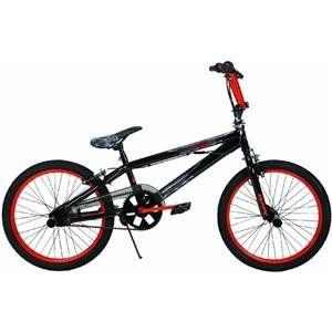Huffy 20 Inch BMX Boys Beserk Bike (Gloss Black Despair