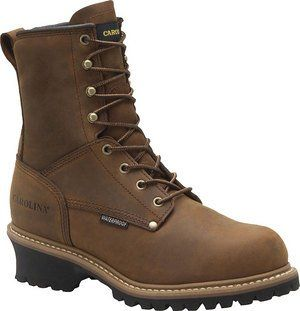 Carolina Boots Men Waterproof Insulated Logger Boots CA4821 Shoes