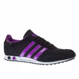 Adidas Trainers Shoes Womens La Trainer Sleek Black