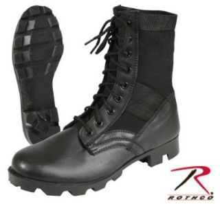 Rothco GI Type Steel Toe Jungle Boot in Black Shoes