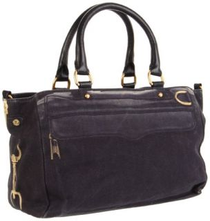 Rebecca Minkoff Mab Satchel,Black,One Size: Shoes