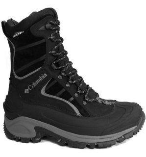 Tech Mens Waterproof Winter Boot (17 D(M) US, Black/Light Grey) Shoes