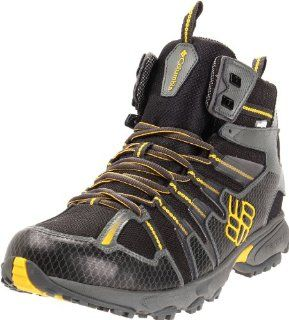 Talus Ridge Mid Outdry Trail Shoe,Black/ Spectra Yellow,11 M US Shoes