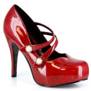 Bettie Page Womens Jin Pump Shoes