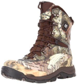 Columbia Mens Bugaboot Plus Electric Camo Hunting Boot Shoes